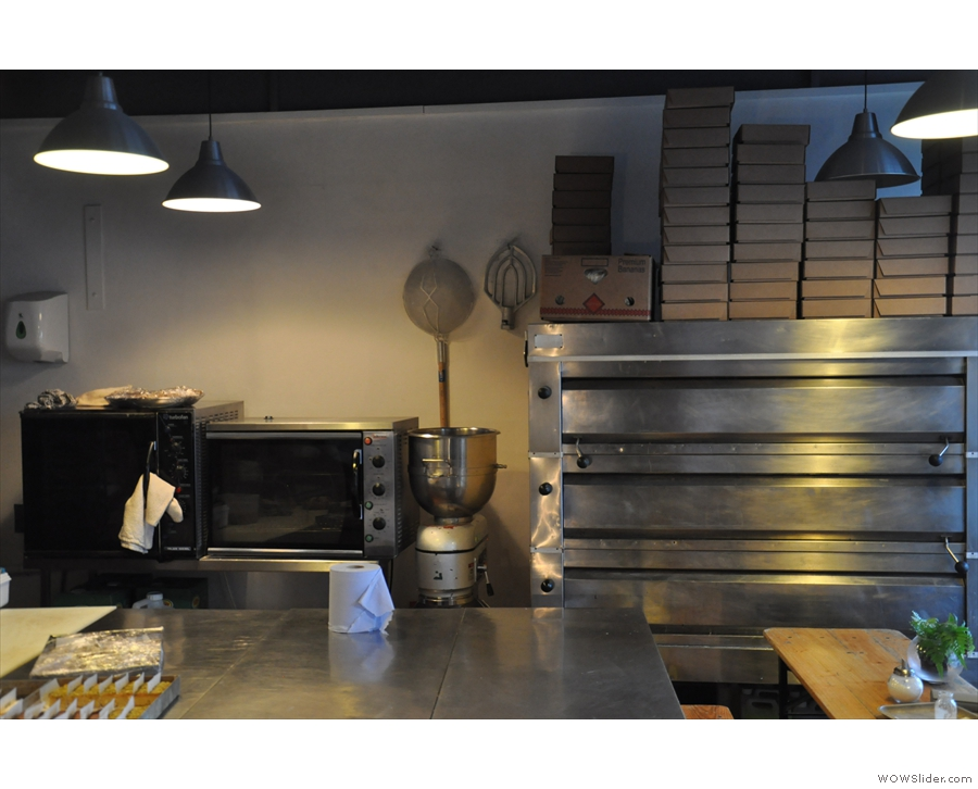 ... which just happens to share its space with a busy, thriving bakery!