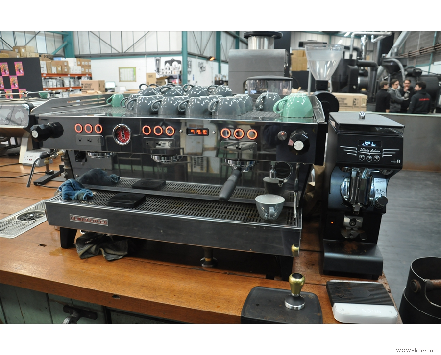 Like most other roasters, training is a vital part of what Extract does.
