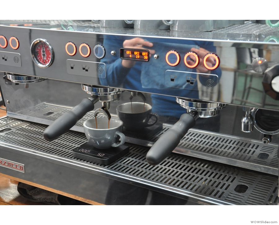 I love watching espresso extract...