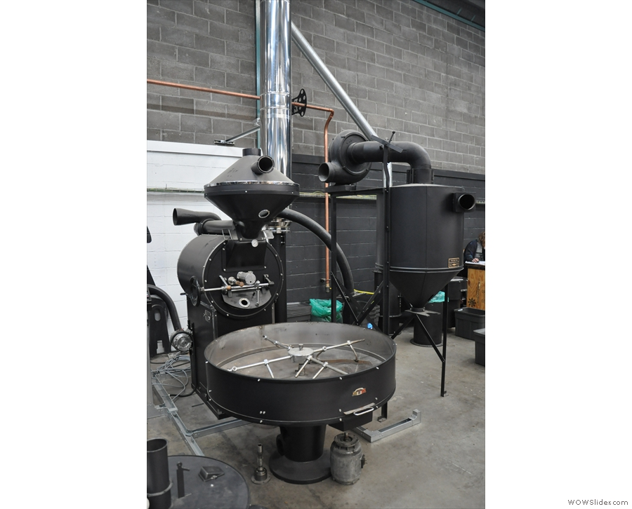 All of Extract's roasters are extensively refurbished. This fellow doesn't have a name yet.
