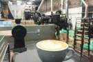 'Has my coffee been drinking?' I ask myself, as it takes a slightly blurry look at the roastery.