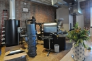 A different view of the roastery...
