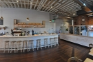 ... and this shows a view of the counter and the seating there.