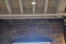 ... and the little brick arch over the window.