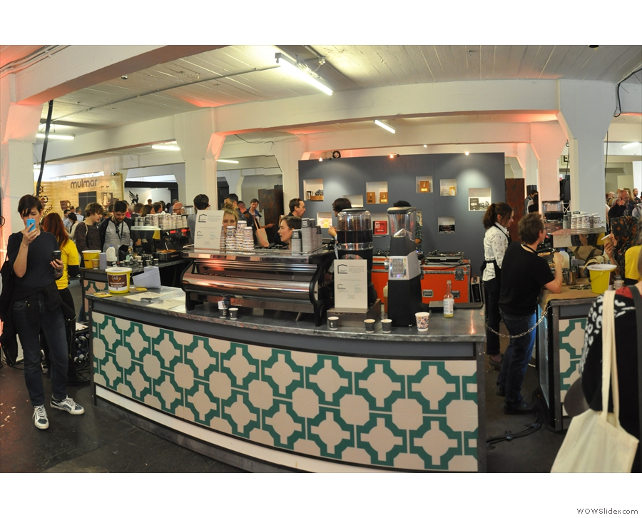 Let's kick-off this whirlwind tour of 2015's London Coffee Festival with the True Artisan Cafe.