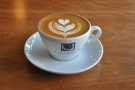 In the absence of a flat white, I had a (traditional) cappuccino.
