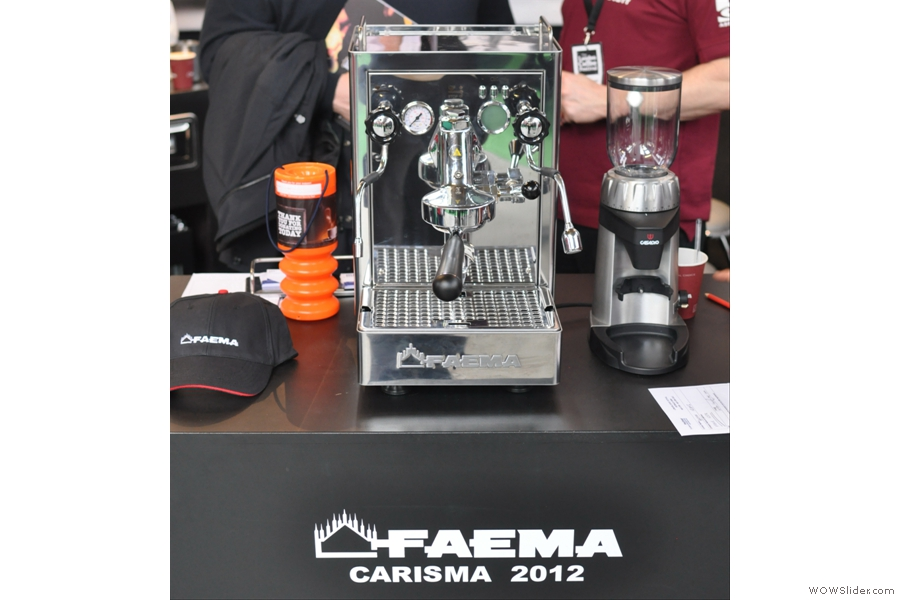 While this is the modern equivalent, the 2012 Carisma. With the exception of the lever, the design is strikingly similar to the 55 year-old Lambro