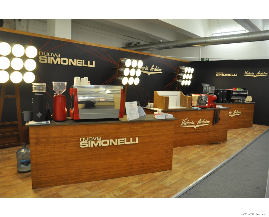 ... and Nuova Simonelli.