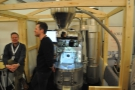 ... and Loring, which was giving live roasting demonstrations.