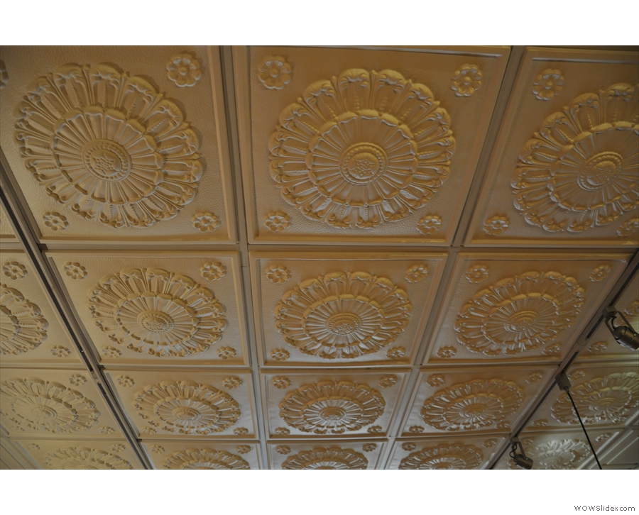 The ceiling in more detail.