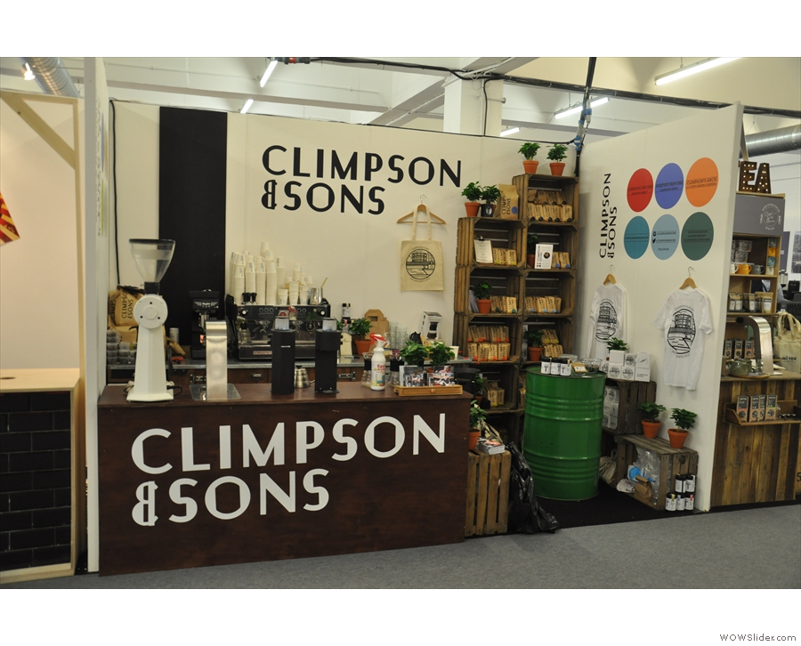 Wandering through the festival, I came to the Climpson & Sons stand back downstairs.