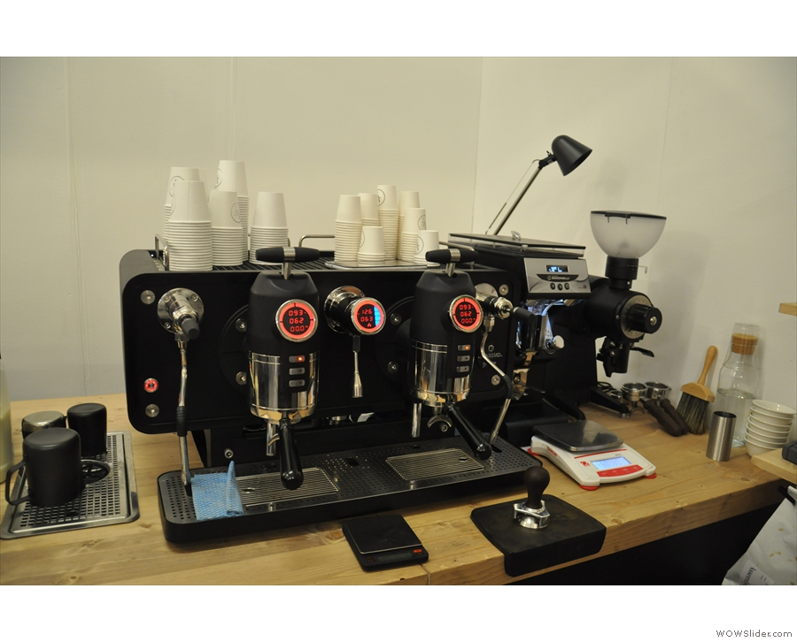 ... nor was I there to see the Sanremo Opera espresso machine...