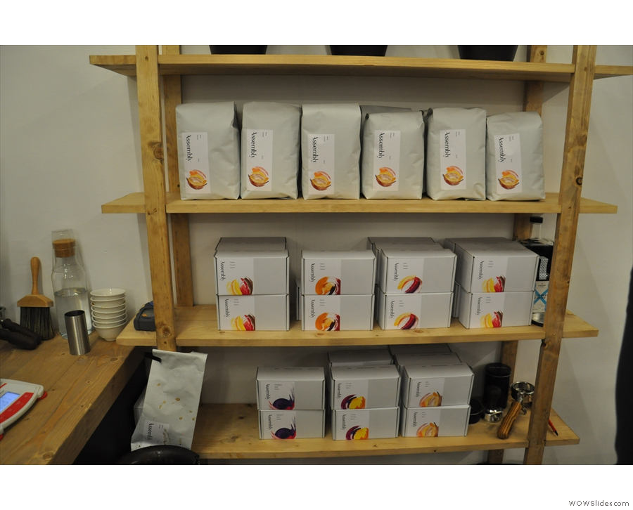 ... or to sample Assembly's impressive range of coffee.