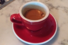 ... which was followed up by the single-origin espresso.