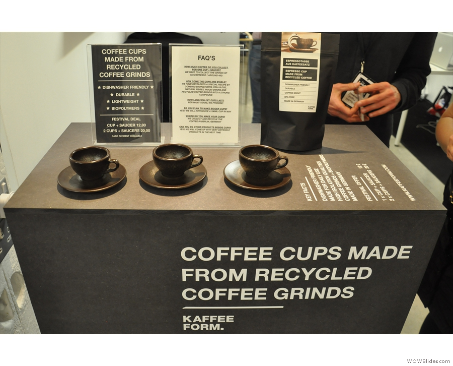 My favourite product from this year's London Coffee Festival, the Kaffeeform cup...