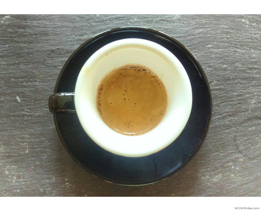 The instgram view of my classic black cup.
