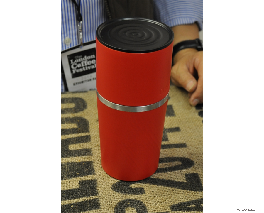 First up, the Klassic, an all-in-one portable coffee maker.