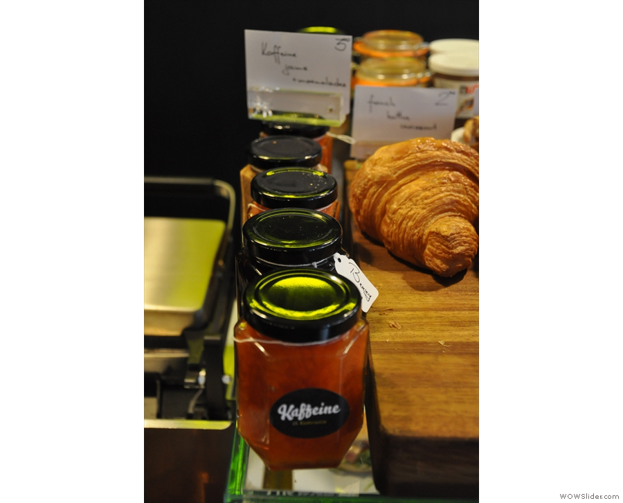 ... while Kaffeine even has its own jam and marmalade.