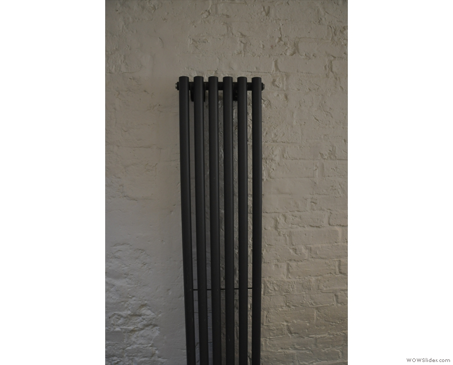 A vertical radiator, in case you were wondering.