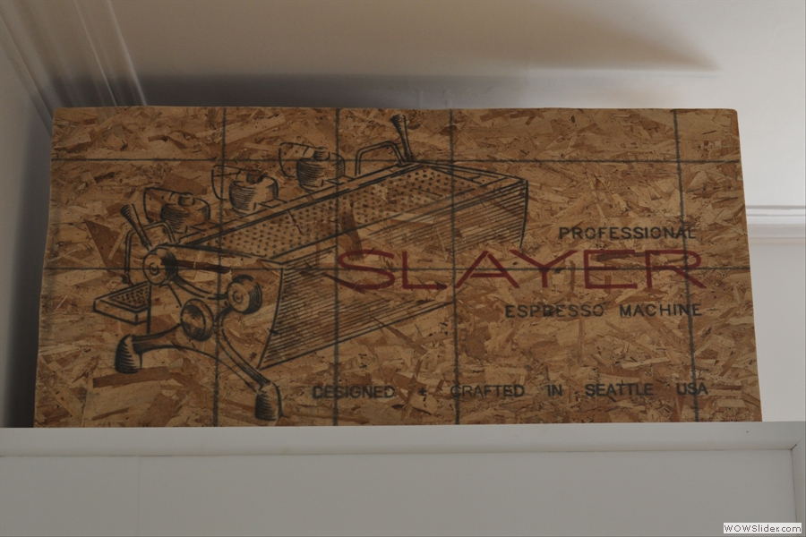 In case you hadn't realised it, you are now in the land of the Slayer...