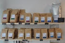 As well as coffee-making kit, all of Surrey Hills' output is available to buy.