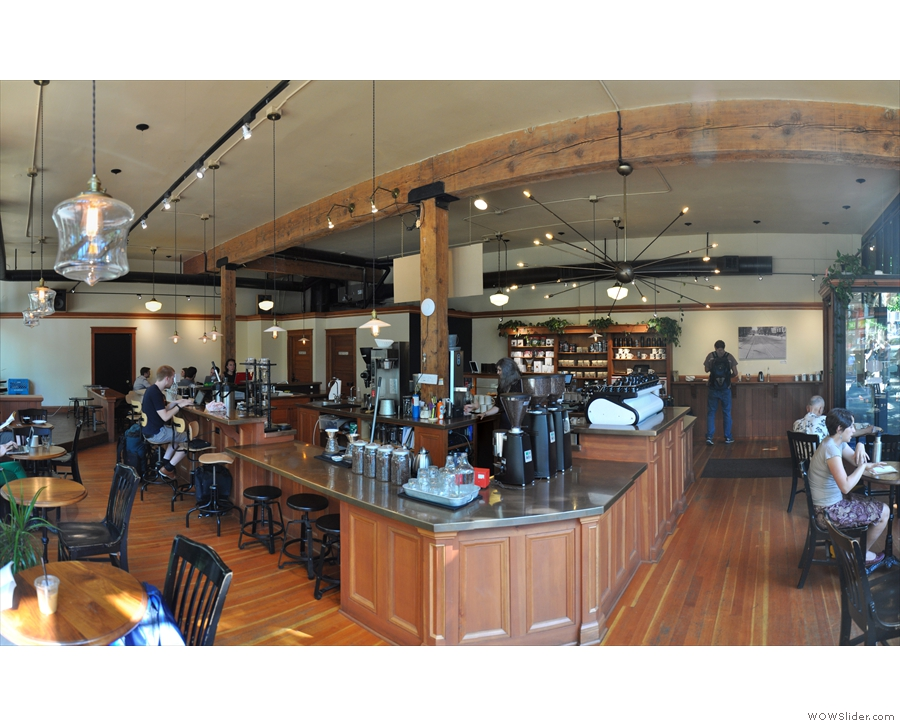 ... and from the corner by 10th & Yamhill. The island counter is amazing.