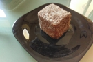 We also had Lamingtons, although in this case, that was because I brought them with us!