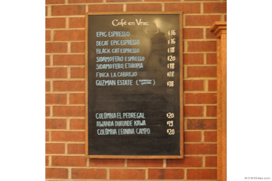 The Coffee Bean Price List Even Though I Messed Up Photo Quite Like