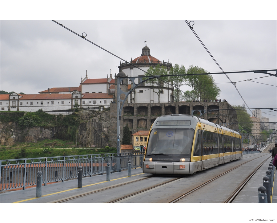 There are also more modern trams, which form part of the metro network.