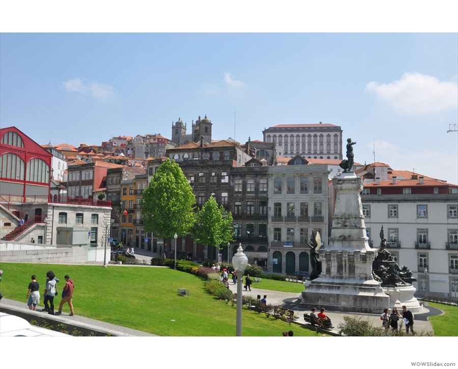 By now you might have worked out that Porto is rather hilly! This is outside the Bolsa Palace.