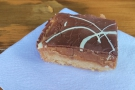 ... and picked up a slice of millionaires shortbread to take on the train with me.