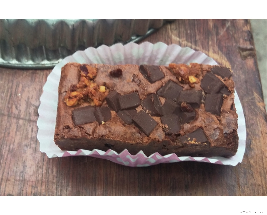 Espresso cheesecake brownie! Tastes as good as it sounds! And looks!