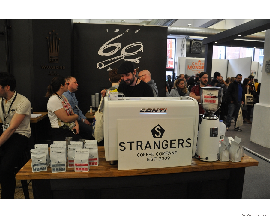 Time to make some new friends. I know Norwich's Strangers Coffee Company of old...