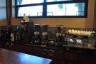 Bulk-brew (left) and espresso (right).
