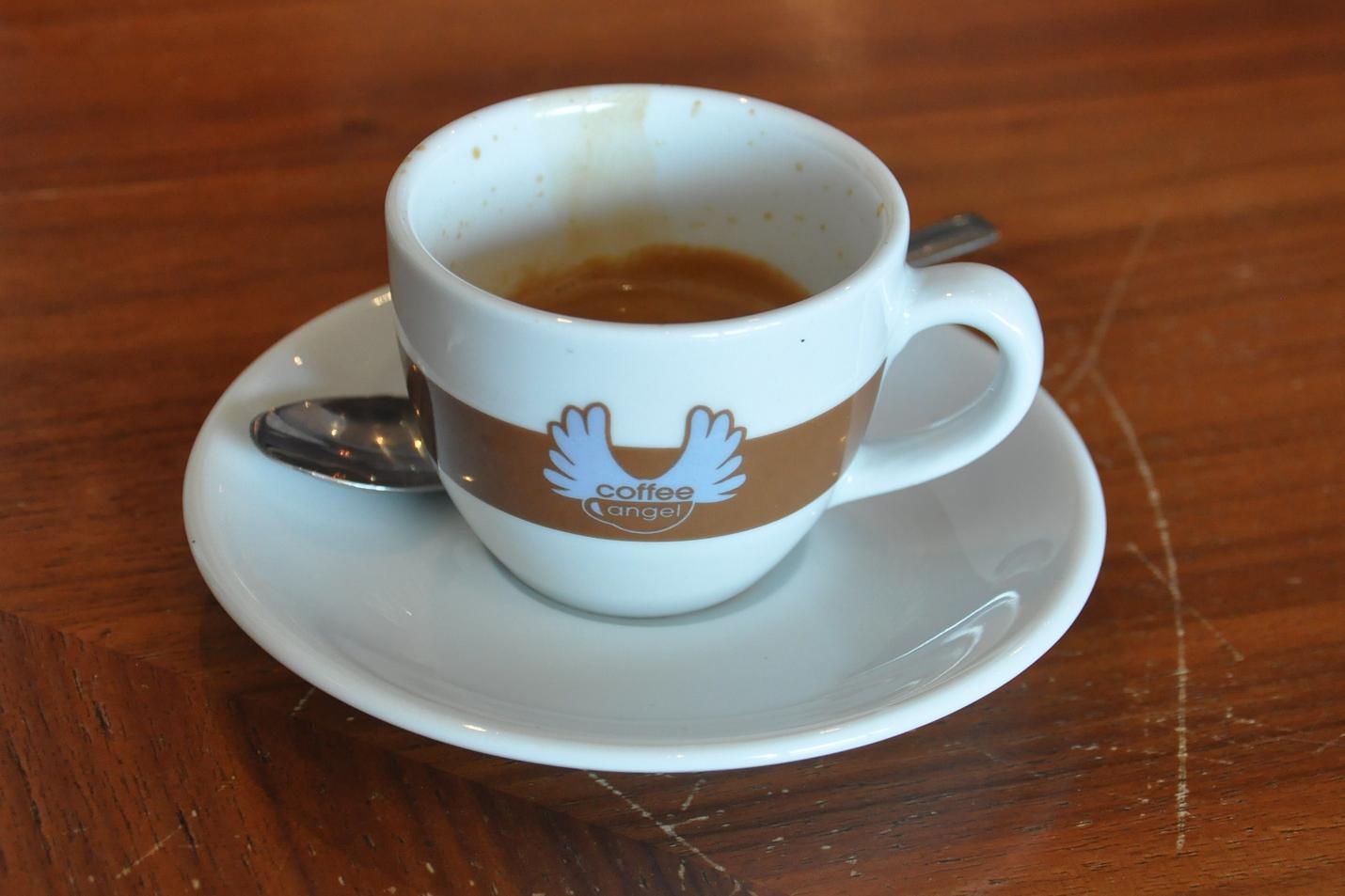 Espresso, the Coffee Angel way