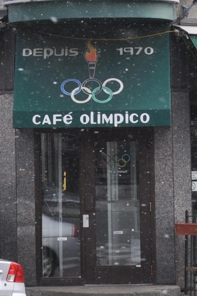 Café Olimpico, depuis 1970 (since 1970)