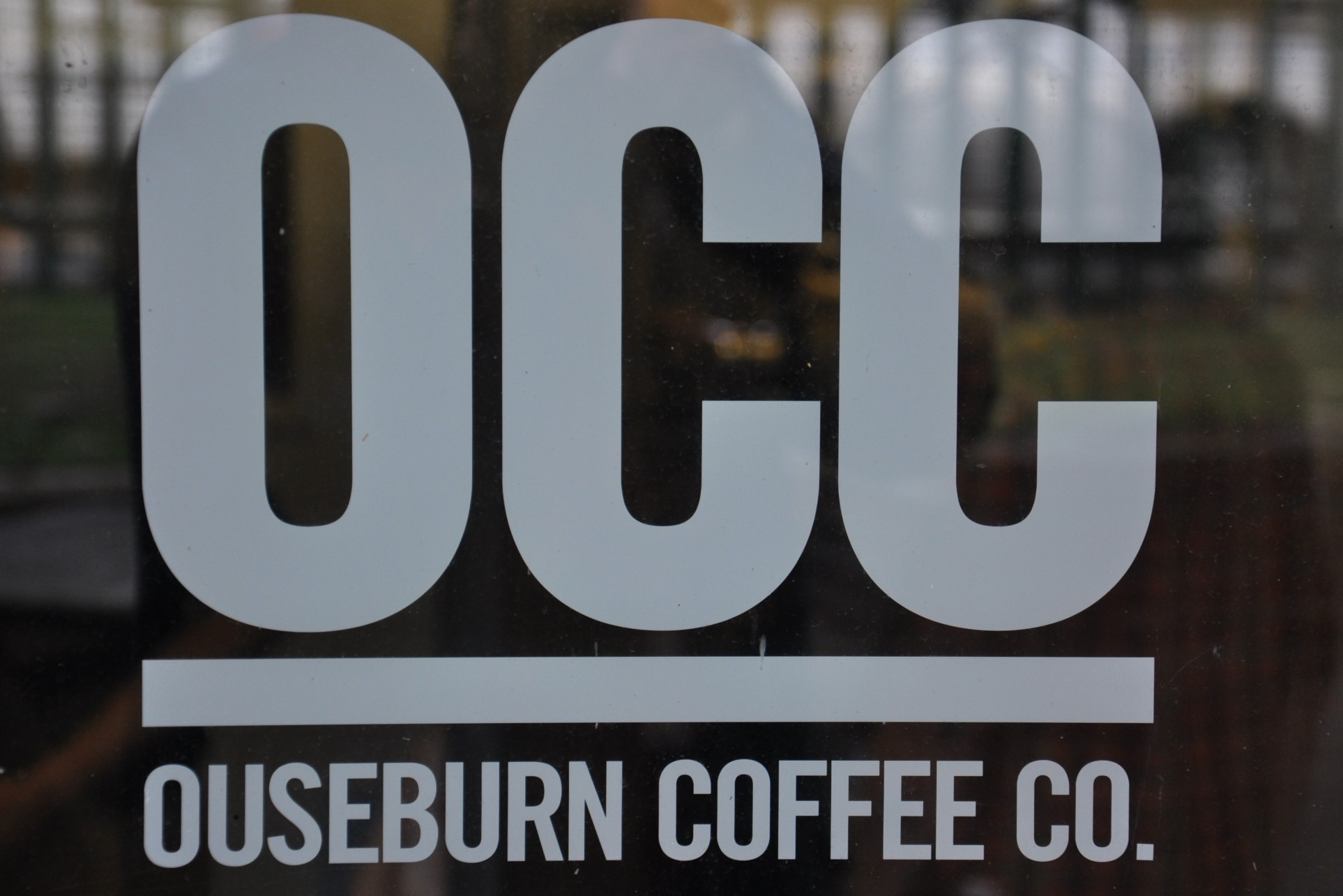 The Ouseburn Coffee Co. logo: the letters OCC above, with 'Ouseburn Coffee Co.' below, separated by a thick horizontal line.