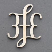 The 3FE logo, simply the letters 3fE in cursive script, with the 3 a mirror image of the E