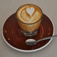 A beautiful Gibraltar (Cortado) from Ox Coffee.