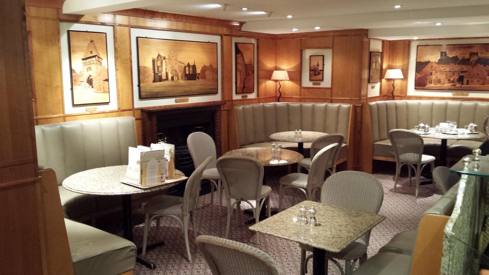 The interior of Bettys Tea Rooms in Harrogate