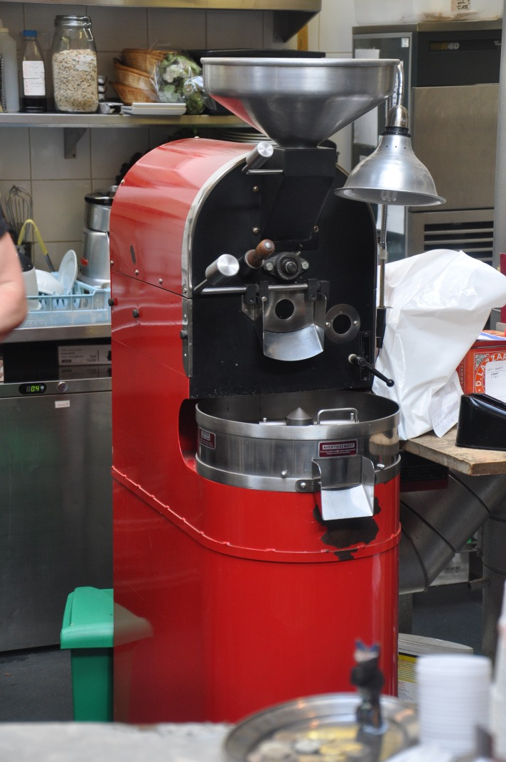 The little red roaster that gave Redroaster its name.