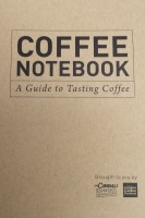 The front of La Cimbali's Coffee Notebook, given away as part of the Sensory Sessions at the London Coffee Festival.