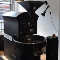 The 15 kg Giesen roaster at Quarter Horse, Birmingham.