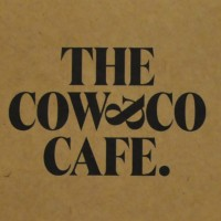 The Cow & Co Cafe logo taken from the front of the menu.
