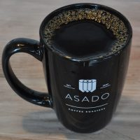 A mug of filter coffee from Asado, River North.