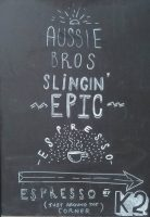 """Aussie bros, slinin' epic espresso 
