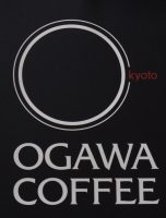 The Ogawa Coffee logo from the sign outside the Boston branch on Milk Street.
