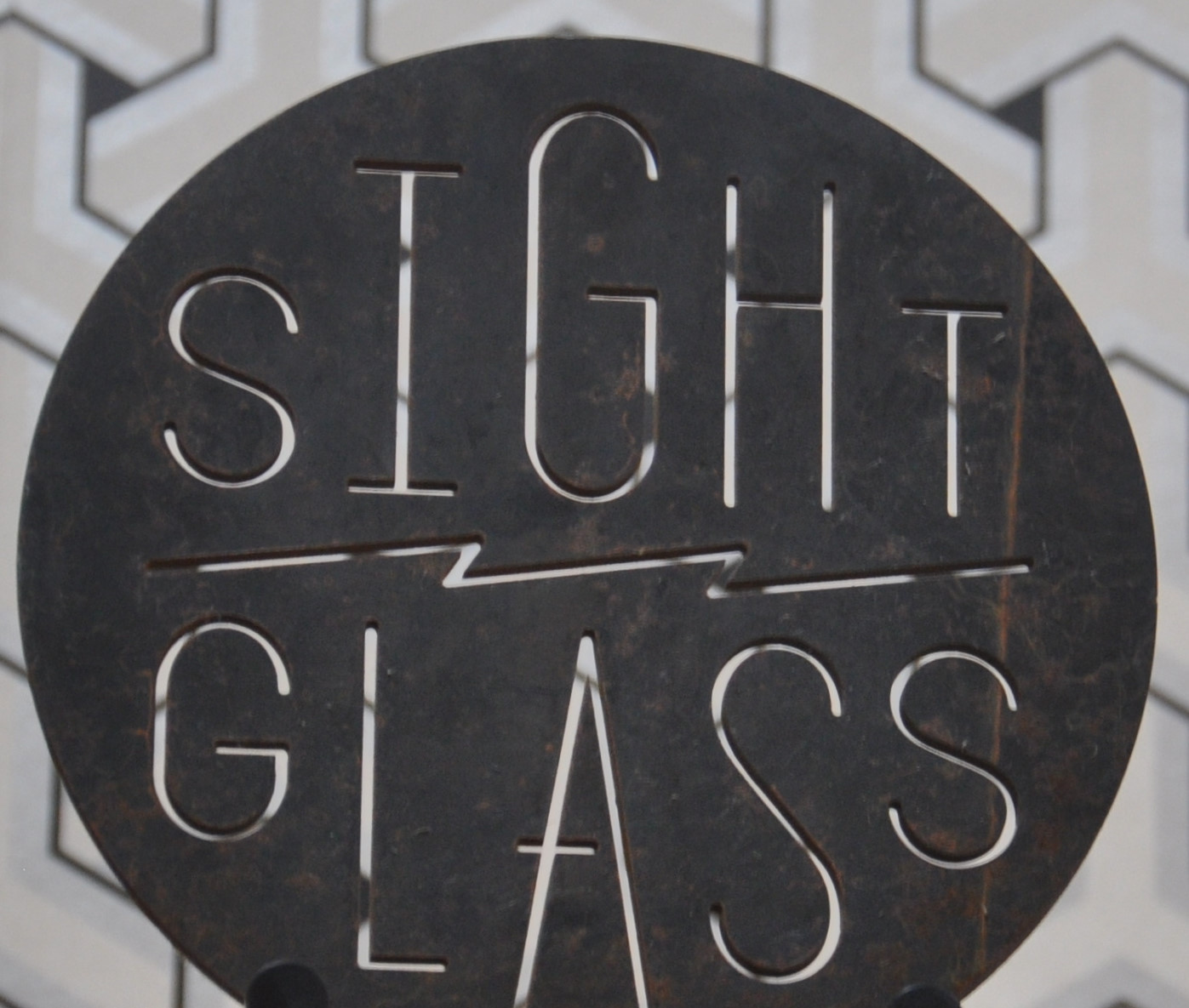 Details of the Sightglass logo.