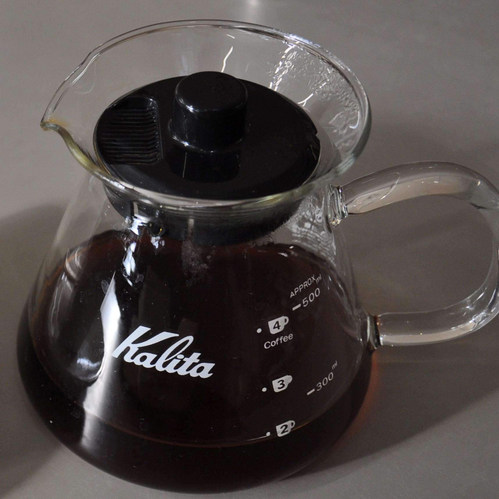A Kalita Wave filter of Allpress La Esperanza from Guatemala, served at Allpress Dalston.