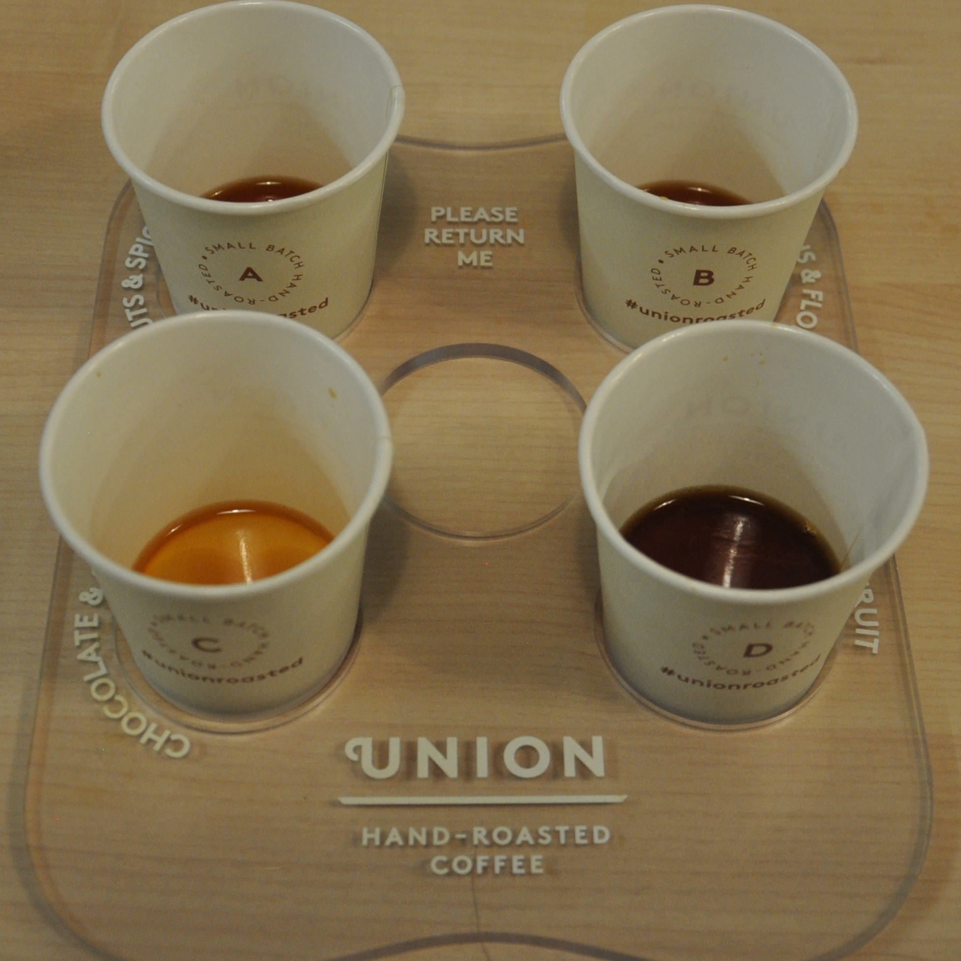 Four different coffees, four different flavour groups. Just match them in the Union Coffee Flavour Challenge at the 2017 London Coffee Festival. How difficult can that be?